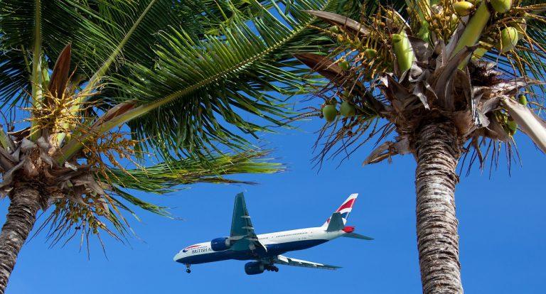 Na wakacje samolotem